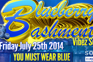 Blueberry Bashment Vibez Session XII Returns to Solarium Nightclub 07.25.14