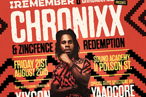 I-Remember featuring Chronixx inside Sound Academy T.O.