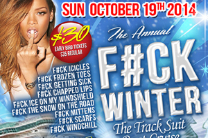 The Annual FCK WINTER BoatCruise Onboard The Enterprise 2000 | 10.20.14