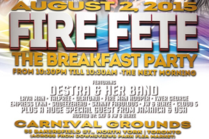 Fire Fete coming to Downsview Park August 2nd
