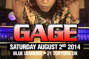 Live from JA 1st Time in Canada! Gage live inside Blue Diamond Caribana Saturday