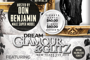 Glamour and Glitz New Year's Eve Gala 12.31.14