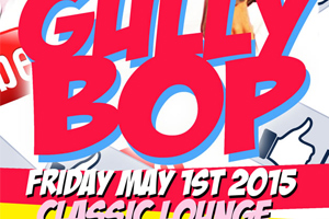 Gully Bop inside Classic Lounge 05.01.15
