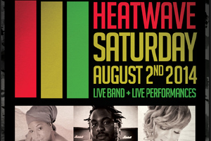 Heatwave! Blessed, Ammoye, Tasha T live at Rivoli Carnival Saturday