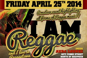 I Am Reggae @ Aura Lounge 04.25.14