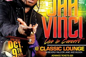 Jah Vinci, Eyesus, Firelion, Fivestar at Classic Lounge 10.09.15