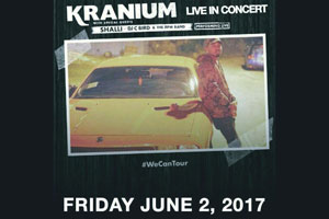 Kranium Live in Concert in Toronto with Shalli, DJ C Bird & RPM Band Friday June 2nd inside Nugget Banquet Hall
