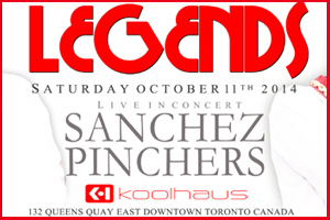 Legends - Sancehez and Pinchers at Kool Haus 10.11.14