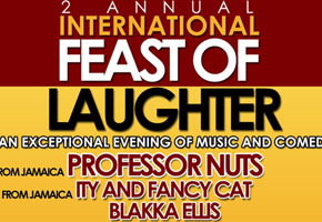 2nd Annual International Feast of Laughter at Queen Elizabeth Theatre 05.31.14