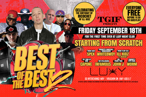 TGIF Fridays at Luxy Present Best of the Best II 09.18.15