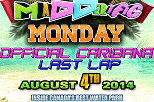 Caribana Monday at Wild Water Kingdom - The Place To Be!