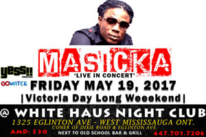 Masicka & Friends live @ White Haus Nightclub Friday May 19th