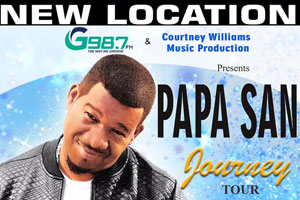 Papa San and Special Guests Saturday May 27th at Church on the Queensway