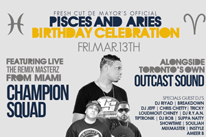 Milestone Pisces & Aries Celebration