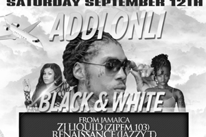 Addi Onl1 Pon Di Gaza Black & White Affair at Palace Banquet Hall