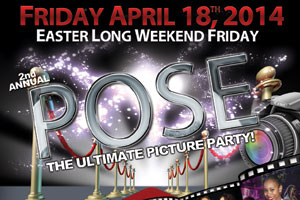 Pose - The Ultimate Picture Party at Guvernment 04.18.14