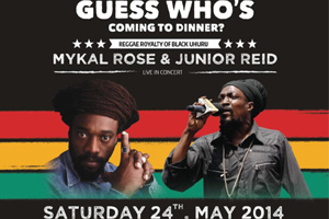 Mykal Rose, Junior Reid & Exco Levi Live @ Sound Academy 05.24.14