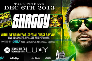 Shaggy & Rayvon with Live Band @ Luxy 12.06.13