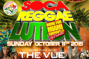 Soca Reggaelution inside The Vue Thanksgiving Long Weekend Sunday