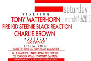 Swanky Swanky ft. Tony Matterhorn at Blue Diamond 03.14.15