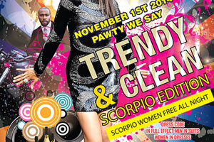 Trendy and Clean at Boardwalk Event Centre Friday Nov 1st