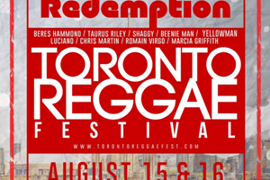 Toronto Redemption (2 Day) Reggae Festival outdoors Polson Pier