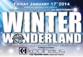 Winter Wonderland at Kool Haus 01.17.14