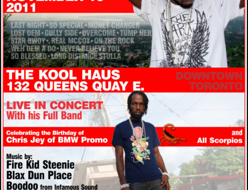 Live in Concert – Mavado (with his Full Band)