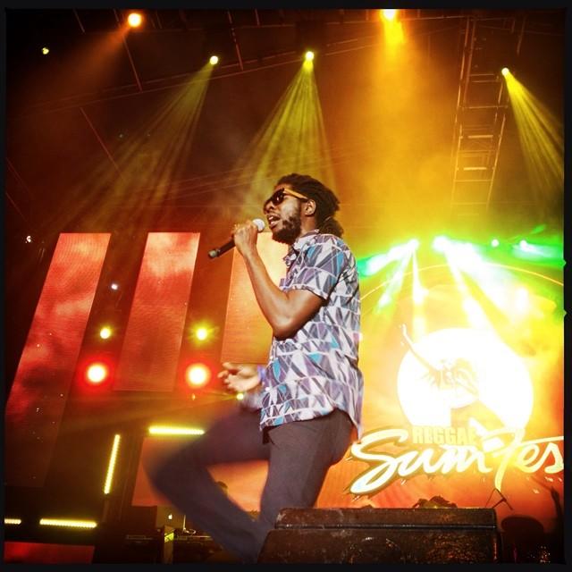 @chronixxmusic - @reggaesumfest photo by @vivianbarclay sumfest2014 reggae reggaesumfest reggaemaniaontheroad…