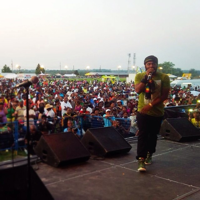 @excolevi working it out at jambana festival toronto music concerts…