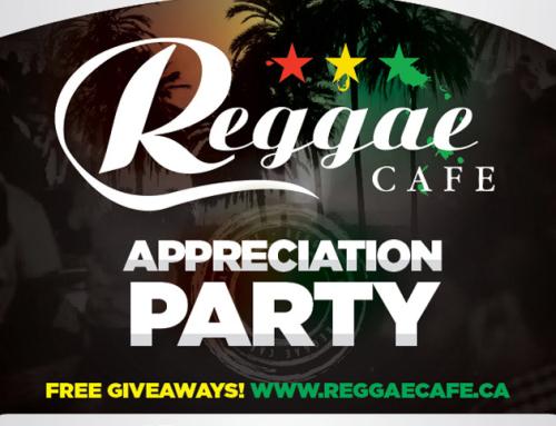 Reggae Cafe Customer Appreciation @ Guvernment Friday December 6th – $150 bottles of CIROC