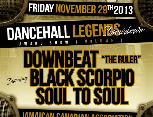 Dancehall Legends Showdown Award Show @ JCA 11.29.13