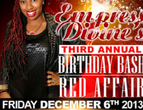 Empress Divine's 3rd Annual Birthday Bash Red Affair @ Hickory House 12.06.13