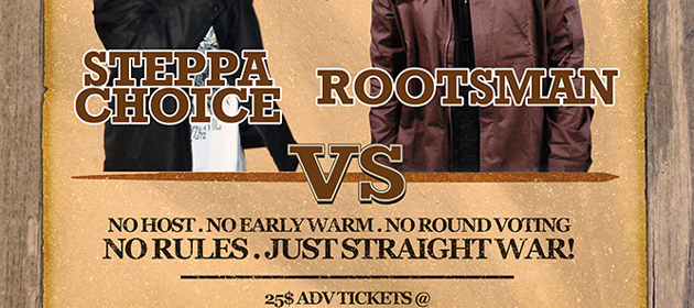 WANTED - Steppa Choice Vs Rootsman at SVG Lounge 07.26.14