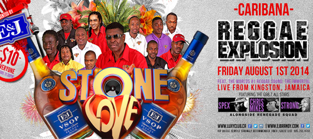 Carnival Friday Reggae Explosion featuring Stone Love inside Luxy