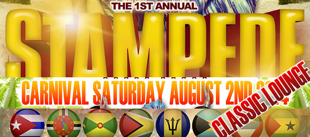 The 1st Annual STAMPEDE--Carnival Saturday inside Classic Lounge