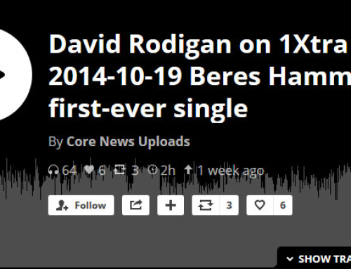 David Rodigan on 1Xtra 2014-10-19 Beres Hammond's first-ever single