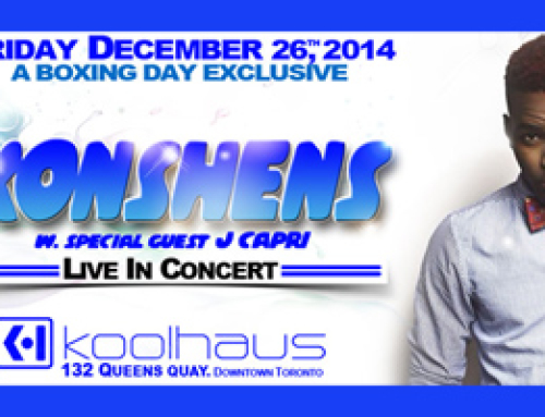 Konshens Live in Concert at Kool Haus 12.26.14