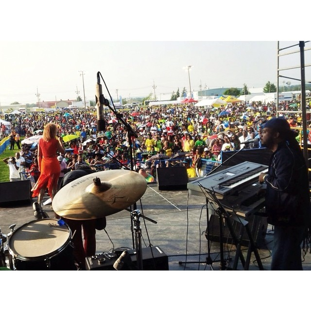 Live from the #Jambana stage #JCLodge  ___ #reggae #concerts #music #toronto #Markham #jonesandjonesproductions