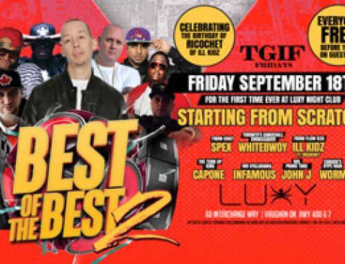 TGIF Fridays present Best of the Best II inside Luxy 09.18.15