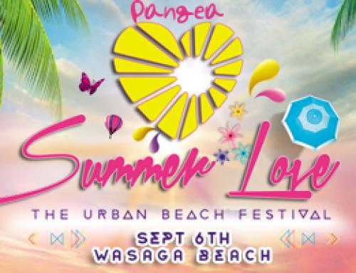 Pangea Summer Love Urban Beach Festival Wasaga Beach