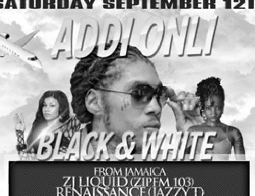 Addi Onl1 Black & White Affair at Palace Banquet Hall