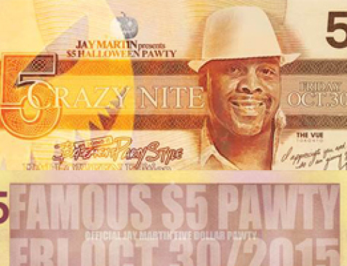 Jay Martin $5 Bruk Pocket Pawty Halloween Edition this Friday at The Vue!