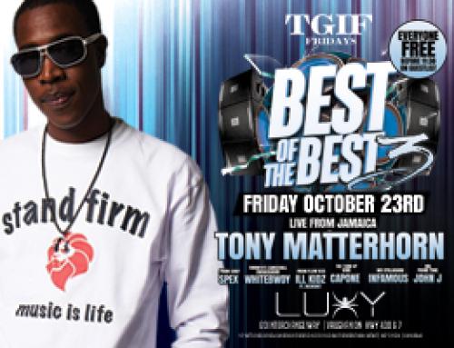Tony Matterhorn at Luxy TGIF Friday Best of The Best III 10.23.15