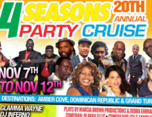 4 Seasons 20th Anniversary Party Cruise  Nov 7th – 12th 2016! Get Your Tickets Now and Save!