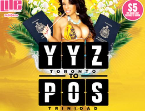 This Saturday Jan 23rd Life Saturdays inside Luxy Nightclub present YYZ Toronto to POS Trinidad | $5 Guestlist b4 11:30 PM