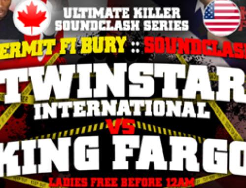Permit Fi Bury U.K.C Souldclash – Twin Star vs King Fargo inside Mysticle Lounge Ajax 07.09.16