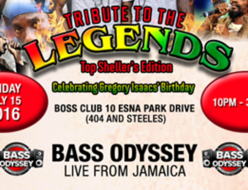 Tribute to the Legends – Bass Odyssey inside Boss Club Friday July 15th