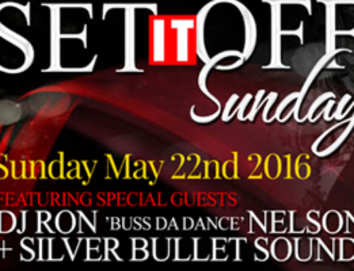 This Long Weekend Sunday May 22nd Set It Off Sundays inside Reign Nightclub presents DJ Ron Nelson, Silver Bullet & Soul Survival.  Ladies Free b4 midnight.