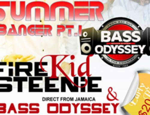 Friday June 3rd at Classic Lounge – Summer Banger Pt. #1 featuring Bass Odyssey + Firekid Steenie